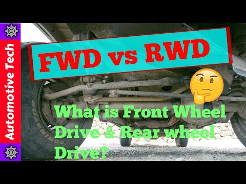 Difference Between Rear wheel drive and Front wheel drive| FWD vs RWD|What is FWD & RWD |PROS & CONS