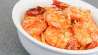 Ginger Laksa Grilled Prawn Stir Fry - Video Recipe
