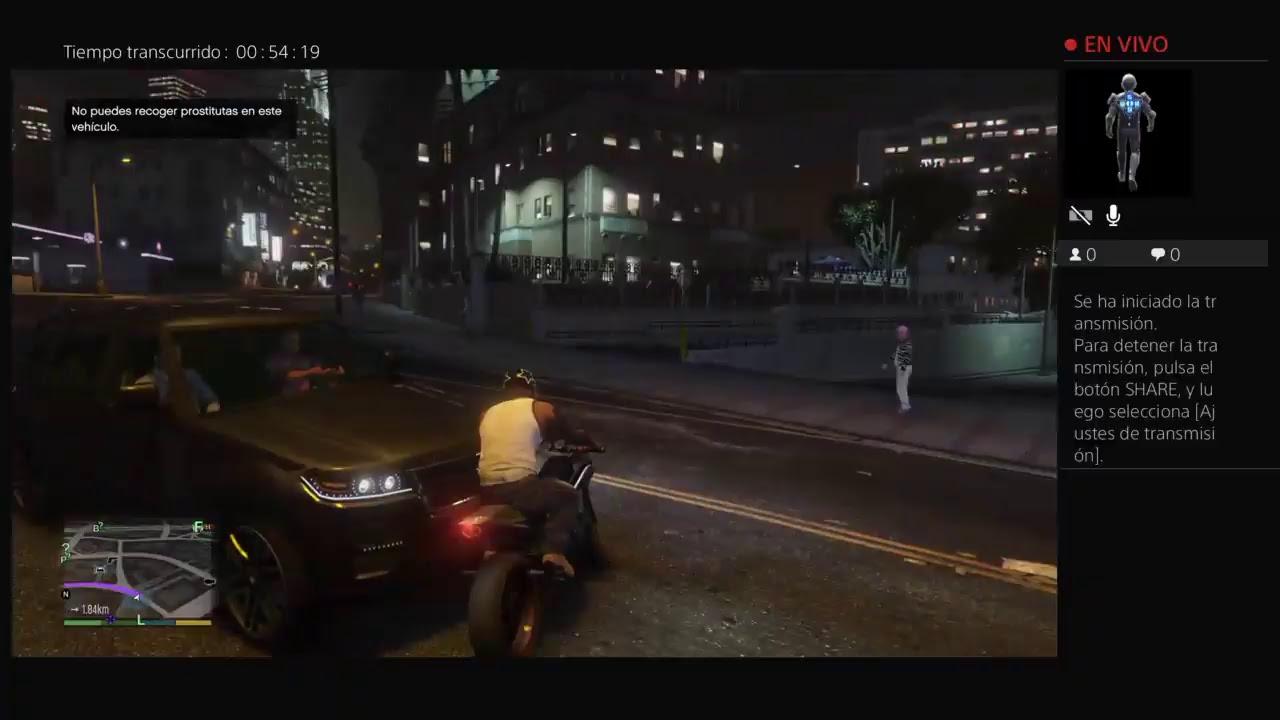GTA V NO PUEDES RECOGER PROSTITUTAS EN ESTE VEHICULO