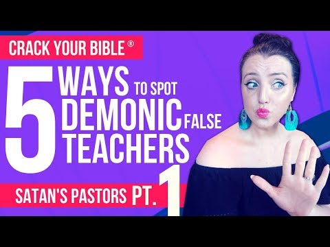 😈 5 signs your pastor works for SATAN! Part 1 (FALSE PROPHET PROOF)