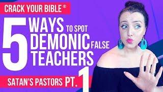 😈 5 signs your pastor works for SATAN! Part 1 (FALSE PROPHET PROOF)