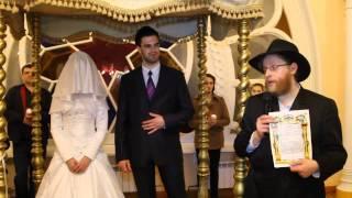 Полная инсценировка еврейской свадьбы