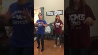 Brother sister Lawson Madison Skylar Wise dancing Timber