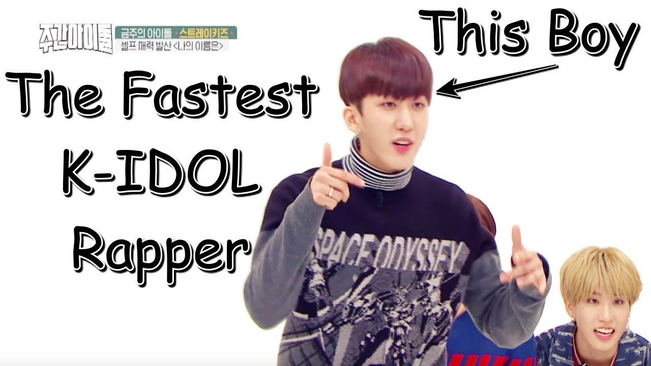 New Fastest Female Kpop Rapper Soyeon Youtube