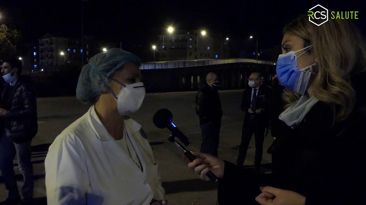 Nocera: un Flash Mob dei Sanitari per chiedere una mano alle istituzioni
