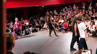 HDMI Team (France) vs Bgirl BK & Bboy Atis (Suisse) @Battle Authentic 2017 (bonnie & Clyde)
