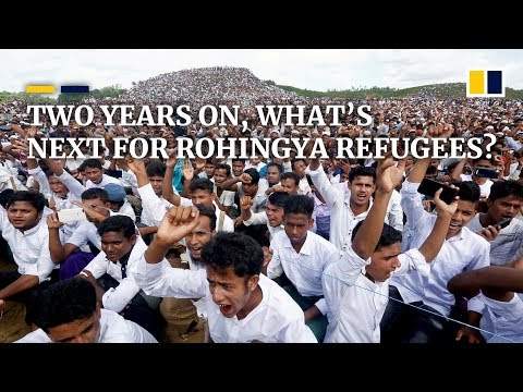 Rally marks two-year anniversary of Rohingya refugees fleeing Myanmar, but what's next?