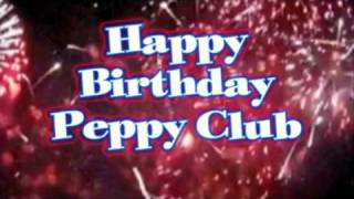 Happy Birthday Peppy Club !