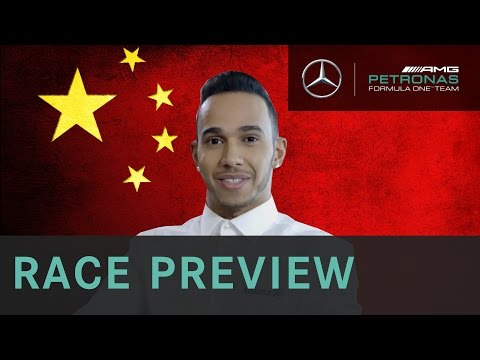Lewis Hamilton 2015 Chinese Grand Prix Race Preview, with Allianz