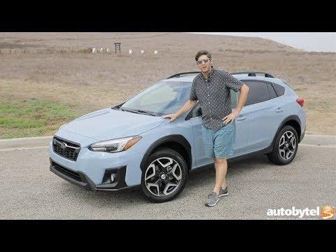2018 Subaru Crosstrek Limited Test Drive Video Review