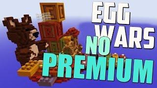 EGG WARS NO PREMIUM MINECRAFT 1.8.3 (Server no premium con Egg Wars)