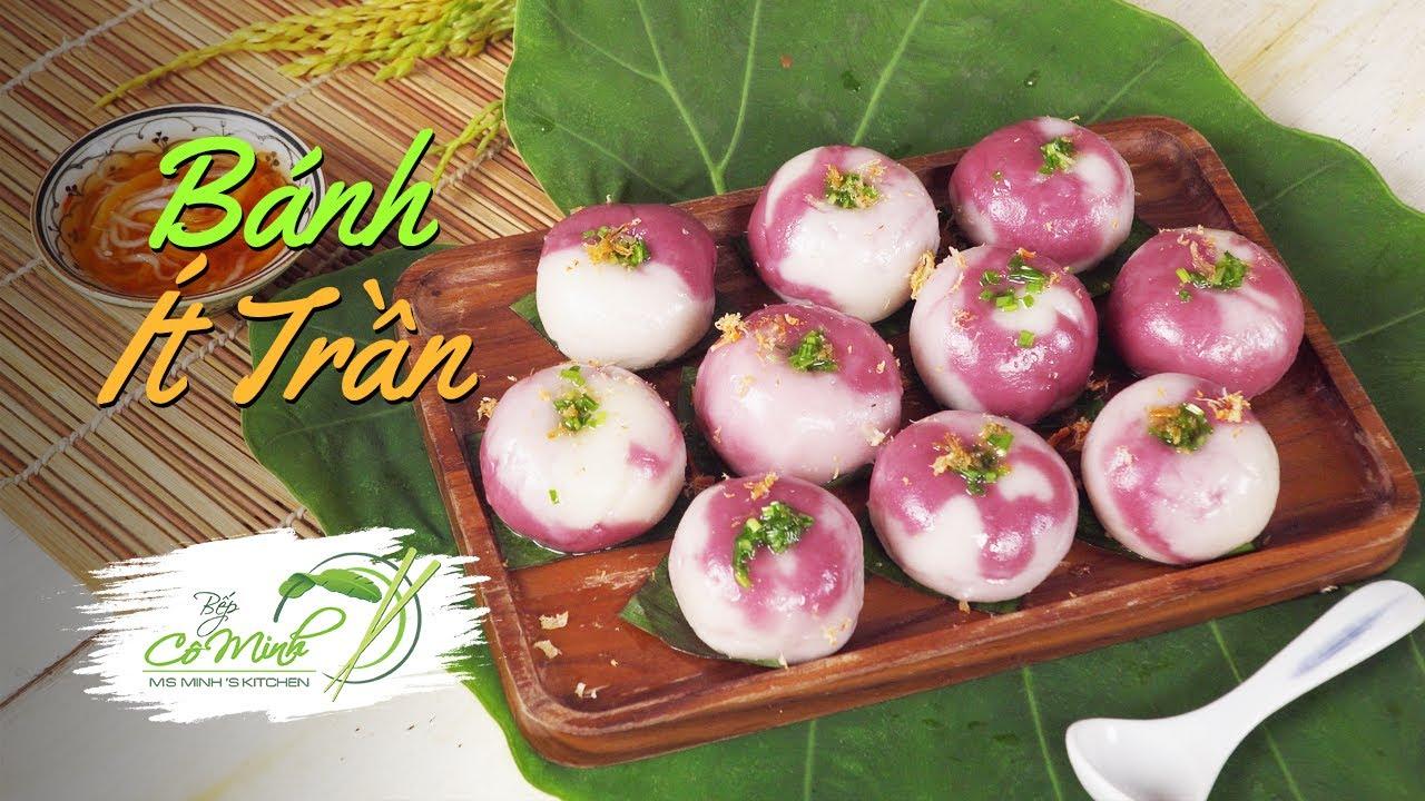 Cách Làm Bánh Ít Trần Nhân Mặn Thơm Ngon (Vietnamese Sticky Rice Dumpling) | Bếp Cô Minh Tập 162