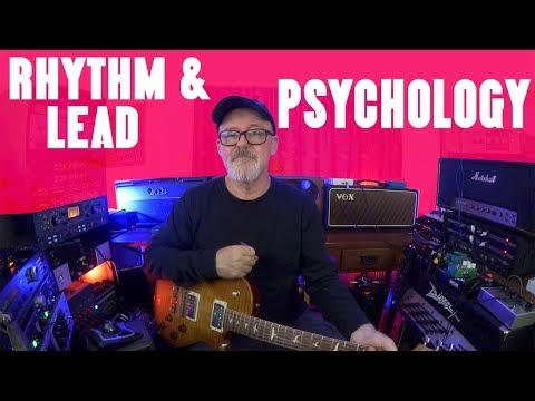 Rhythm and Lead Psychology | Tim Pierce | Learn To Play | Guitar Lesson