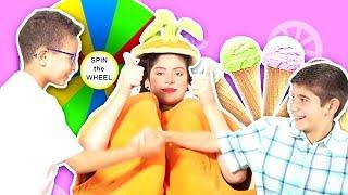 فوزي موزي وتوتي | فقرة المندلينا | دولاب البوظة |  Ice-cream wheel