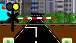 Animasi kereta api pendek dengan flash