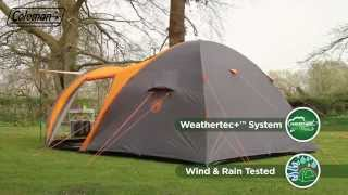 Coleman® Cortes 5+ - Five person Family Camping Tent