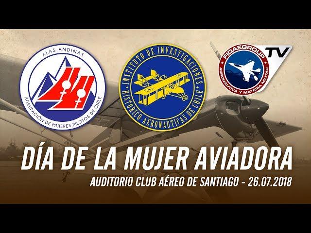 Primera conmemoración Día de la mujer Aviadora (Alas Andinas)