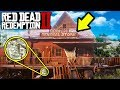 SECRET MONEY ROBBERY FOUND in Red Dead Redemption 2! RDR2 Secret Robbery Locations!