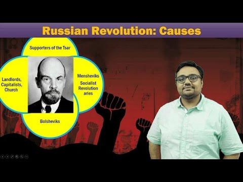 WH-Russian Revolution (1917) Part-I: Socio Economic Causes behind the proletariat revolution