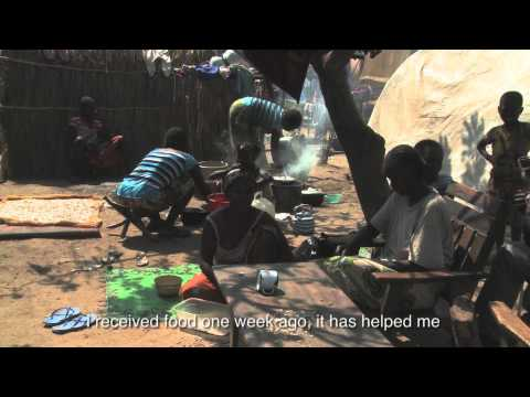 WFP Distributes Food in Bossangoa, Central African Republic