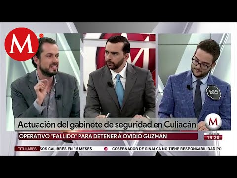 Paul Ospital y Abraham Mendieta. Actualizacion del gabinete de seguridad en Culiacán