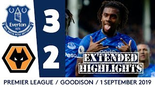 EXTENDED HIGHLIGHTS: EVERTON 3-2 WOLVES | IWOBI OFF TO A FLYER, RICHARLISON BAGS BRACE!