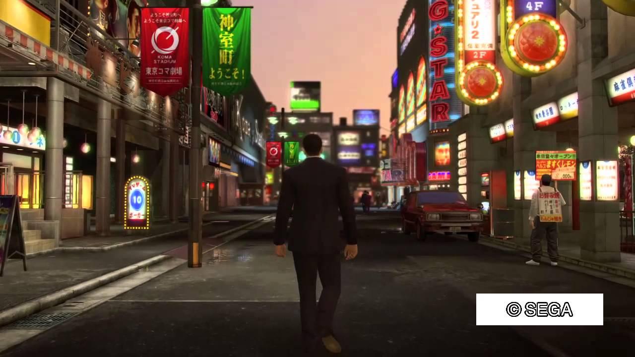 龍が如く0 発売前に神室町を平和に散歩したかった - YouTube