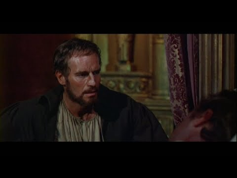Charlton Heston as Michelangelo