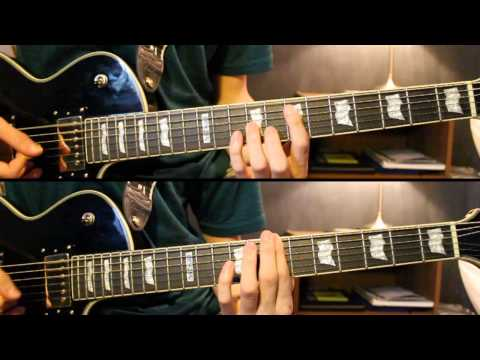 """Angels Fall"" - Breaking Benjamin {Lead & Rhythm Guitar Cover} HD"