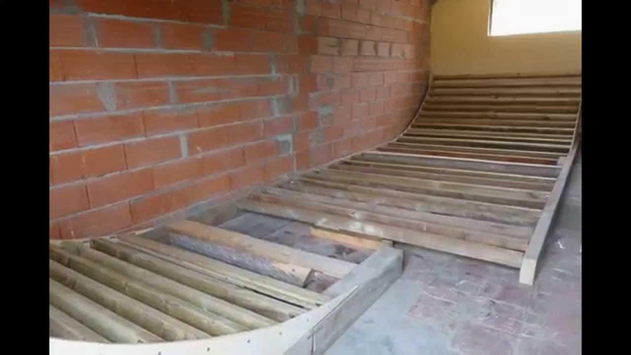 Construction dune rampe halfpipe pour freestyle roller  ~ Construire Une Rampe De Skate En Bois