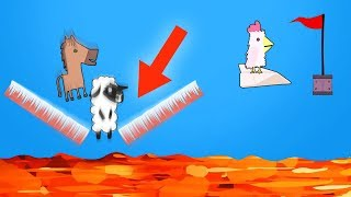 HARDEST LEVEL IN THE GAME! (Ultimate Chicken Horse)