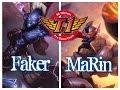 SKT T1 Faker RYZE vs SKT T1 MaRin RUMBLE Top - League of Legends Ranked Korean