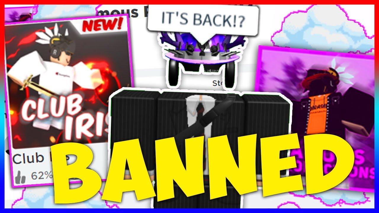 Roblox Club Iris Banned Youtube