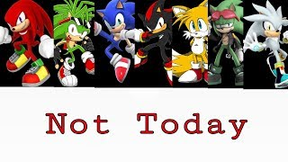 sonic boys not today