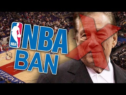 Clippers Owner Donald Sterling BANNED For Life From NBA & Fined $2.5-Million