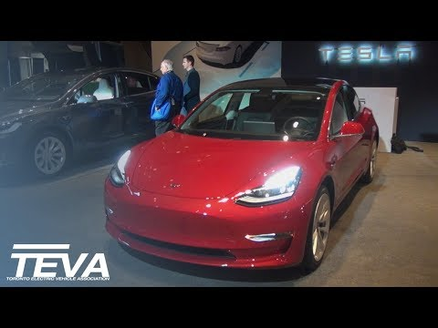 Tesla Model 3   TEVAshow (2018 CIAS)