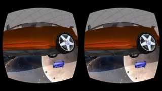 Explore a Virtual Reality Car Showroom in Showroom In Space!