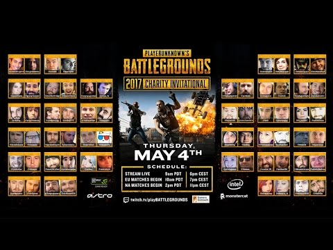 [PUBG] PlayerUnknown's Battlegrounds Charity Invitational - Game 2 NA