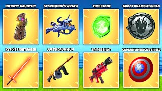 Evolution of ALL 48 Fortnite Mythic Weapons & Secret Items (Season 1 to Season 16)