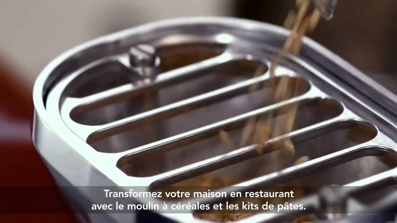 KitchenAid Robot sur socle Artisan - YouTube