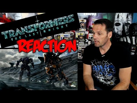Drumdums TRANSFORMERS THE LAST NIGHT Trailer 1 Reaction/Review