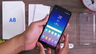 SAMSUNG GALAXY A8 UNBOXING 2018 !!!
