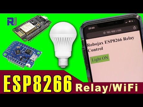 ESP8266 Project: How To Control AC Bulb Or Load Using Relay With NodeMCU And D1 Mini Over WiFi