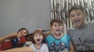 GOKIL!! Lagu Cicak Cicak Di dinding dan Lihat Kebunku (Cover) By Bayo, Borneo, Kerrin, dan Jhon Slow
