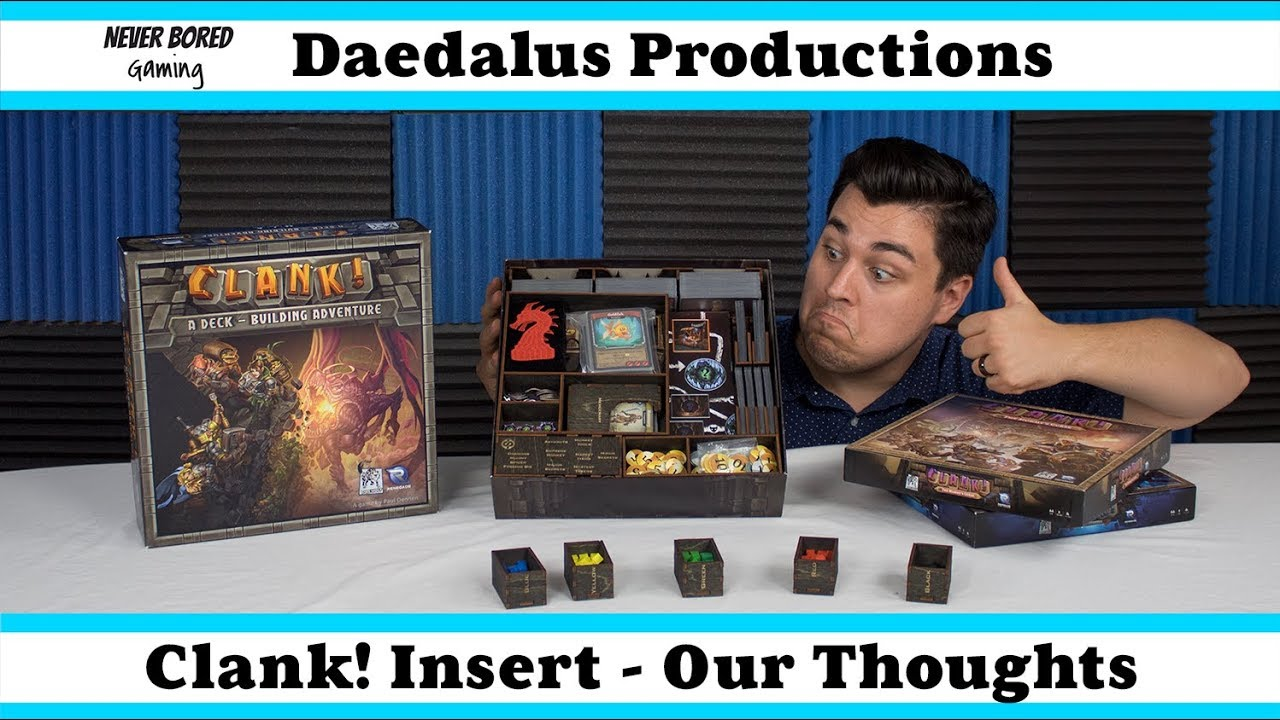 Daedalus Productions: Clank! Insert - Our Thoughts