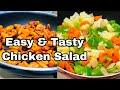 Chicken Salad | Weight Loss Recipe In Malayalam| Healthy Chicken Vegitable Salad |Easy Salad Recipe