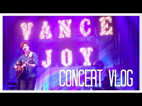 💙❤️VANCE JOY💙❤️ Concert Vlog | Angel Curse