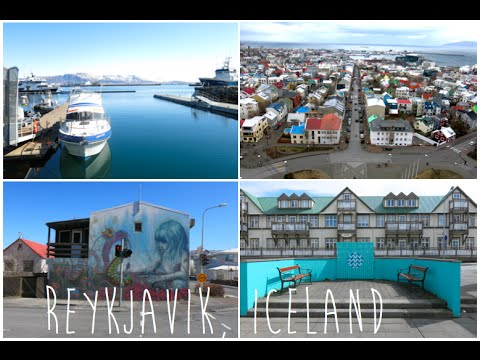 Vlog : Reykjavik, city center