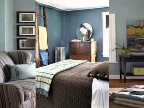 Brown And Blue Living Room Decorating Ideas YouTube