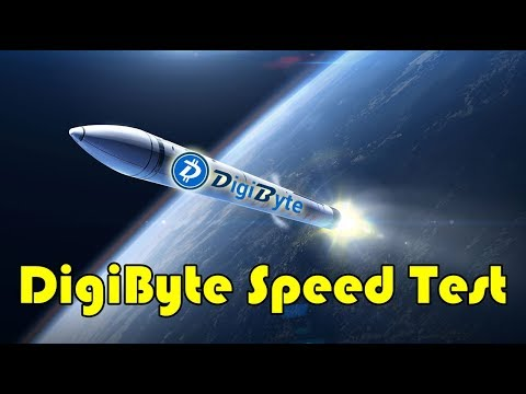 How Fast Is The Digibyte Network? Digibyte Coin Speed Demonstration